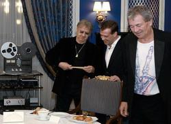 Встреча Deep Purple с президентом РФ!