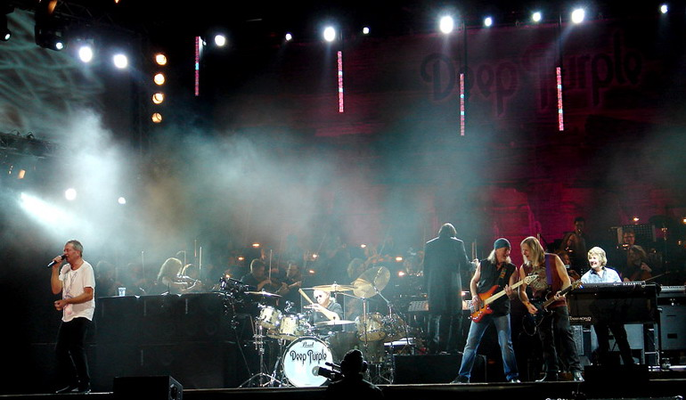 Концерты Deep Purple в 2012 году в России!