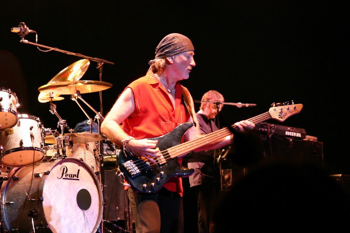 Концерт Deep Purple в Израиле в Кейсарии!